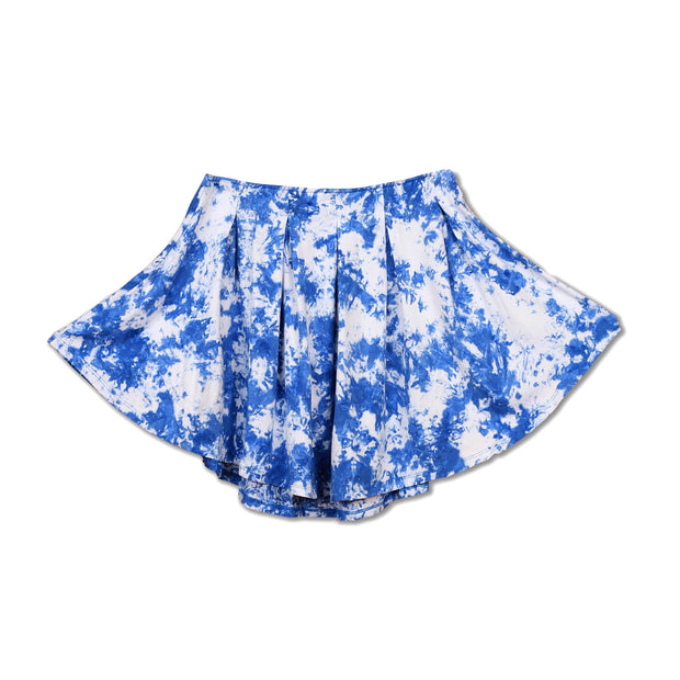 Tie-dye Royal Blue Skirt - Huedee