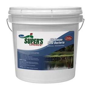 Super's Choice All Season Pond Bacteria with Barley Straw 10 lb Pail
