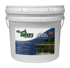 Super's Choice All Season Pond Bacteria with Barley Straw 25 lb pail
