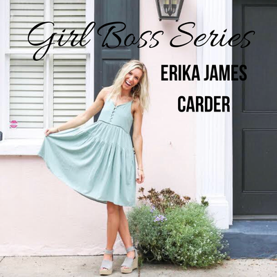 Girl Boss Series: Erika James Carder {Photographer + Marketing Manager + Blogger}