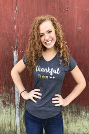 Thankful Heart Short Sleeve Tee