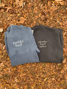Grateful Heart Crew Neck