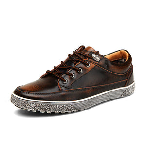 Casual Retro Genuine Leather Shoes