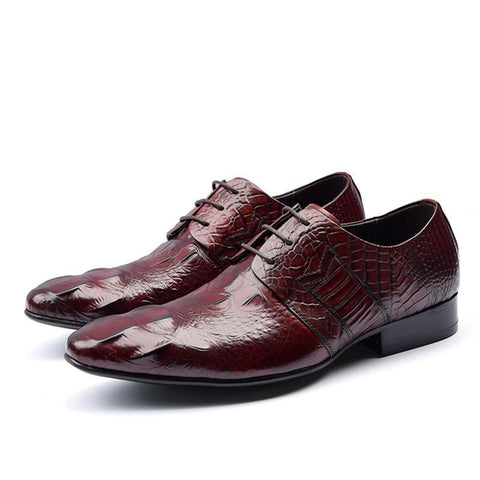 Casual Genuine Leather Oxford Shoes