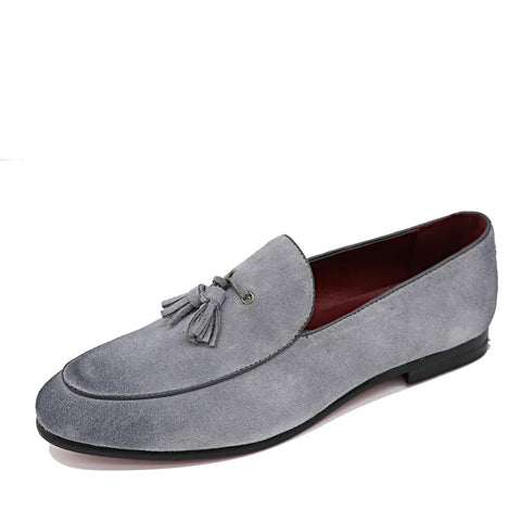 Casual Suede Loafers
