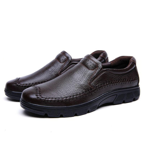 Breathable Genuine Leather Loafers