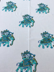 Udaipur Elephant Tablecloth