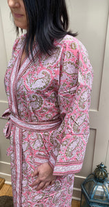 Anokhi Maria Long Dressing Gown