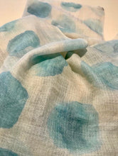 The Stone Collection Blue Wami Cashmere Pashmina Shawl