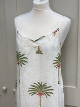 Carla Palm Tree Nightie and Dressing Gown Set