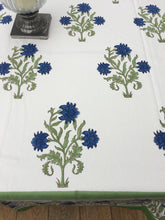 Blue Marianna Tablecloth