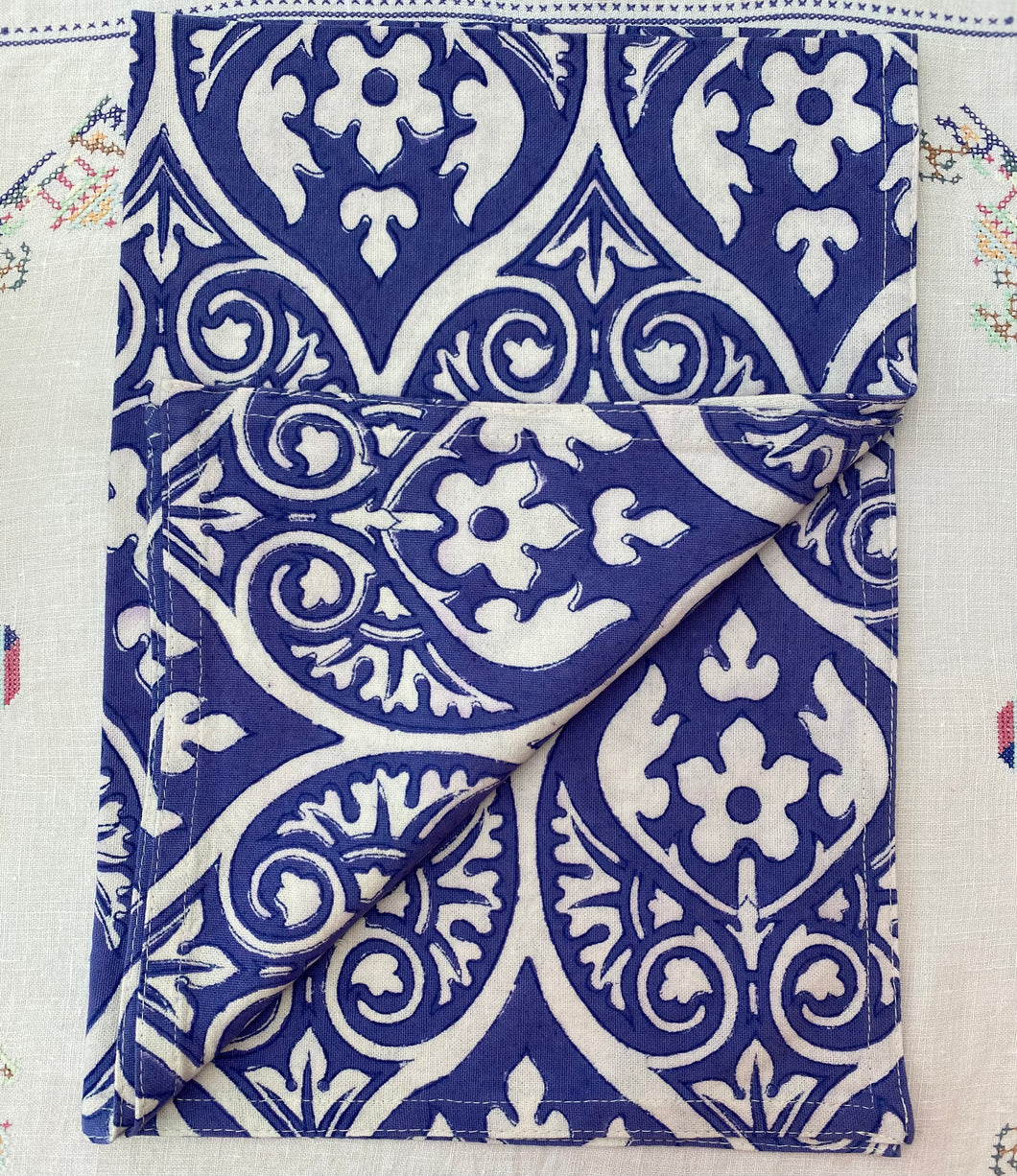 Blue Baroque Teatowel