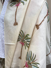 Green Palms Pashmina Shawl