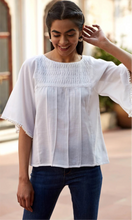 Cottons White Hebe Top