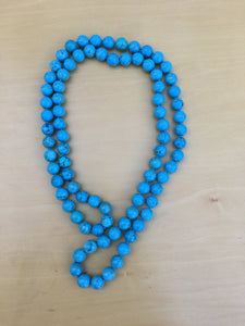 Turquoise long Bonbon Necklace