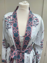 Carla Pink Daisy Nightie and Dressing Gown Set