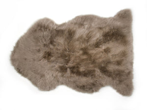 New Zealand Longwool Sheepskin in Taupe - Pacific Design Co.