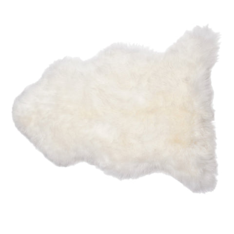 New Zealand Longwool Sheepskin in Ivory - Pacific Design Co.