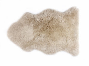 New Zealand Longwool Sheepskin in Linen - Pacific Design Co.