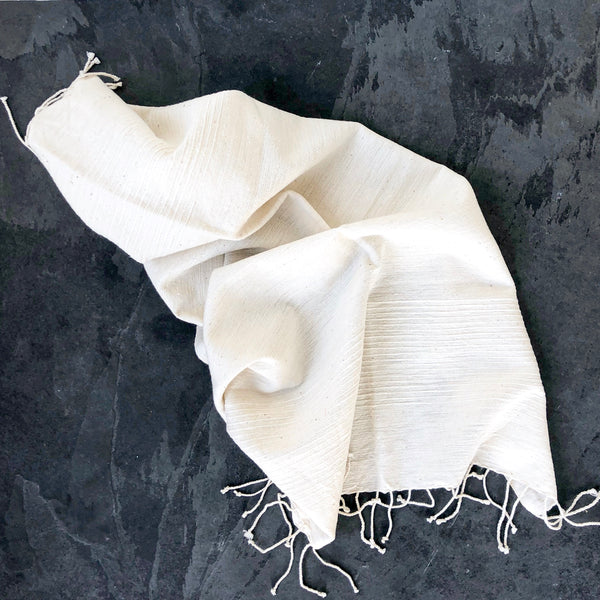 Jola Cotton Hand Towel - Natural