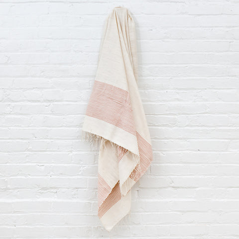 Jola Cotton Bath Towel - Blush - Pacific Design Co.