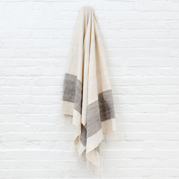 Jola Cotton Bath Towel - Gray - Pacific Design Co.