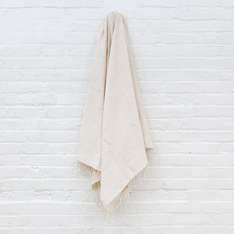 Jola Cotton Bath Towel - Natural - Pacific Design Co.
