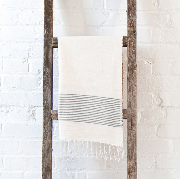 Jola Cotton Hand Towel - Gray - Pacific Design Co.