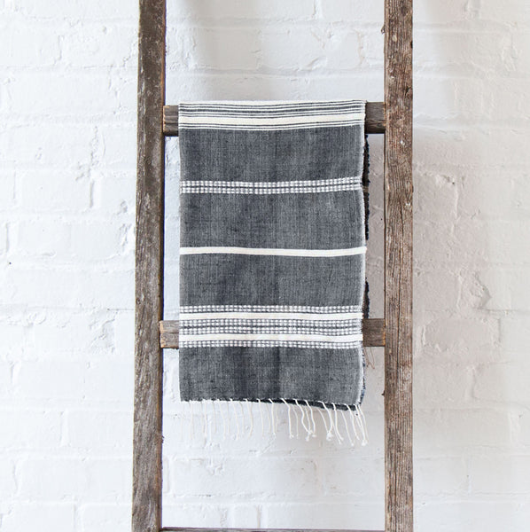 Brooks Cotton Hand Towel - Gray - Pacific Design Co.