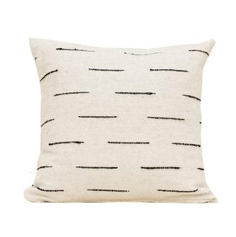 Organic Wool Linea Pillow in Cream - Pacific Design Co.