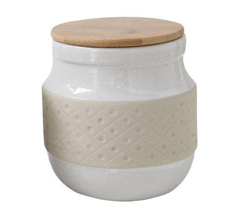 Stoneware Canister - Pacific Design Co.