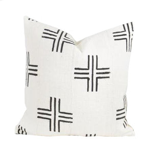 Sierra African Mud Cloth Pillow - Pacific Design Co.