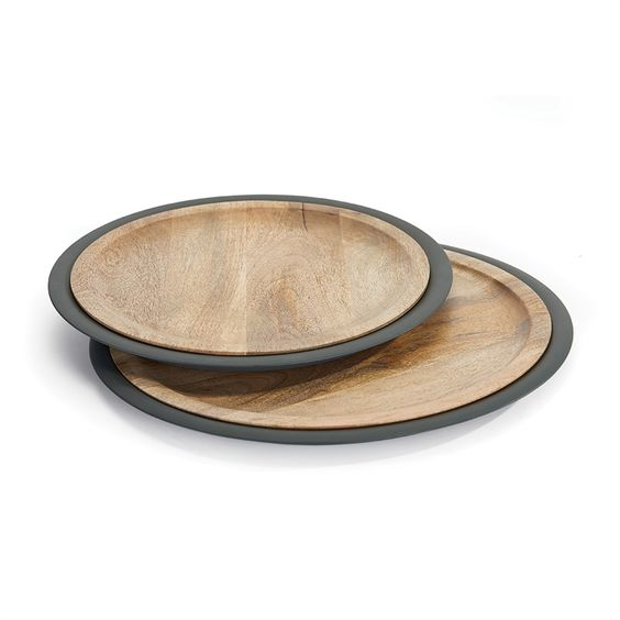 Mango Wood Serving Platters - Pacific Design Co.