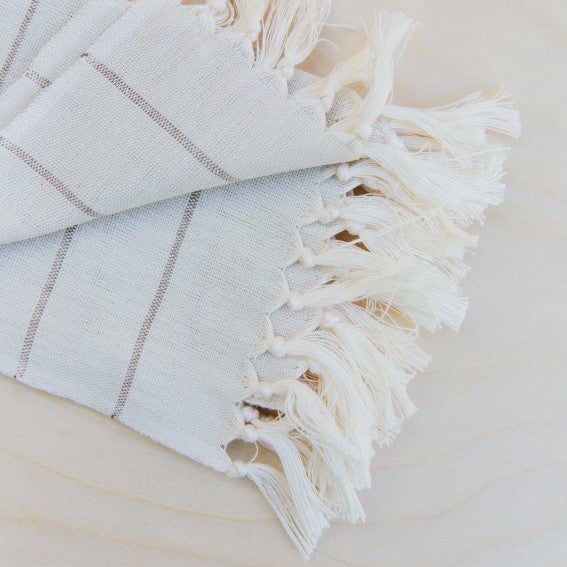 Chiapa Striped Cotton Hand Towel - Pacific Design Co.