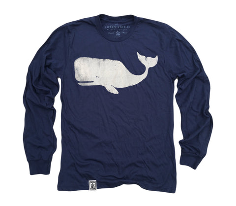Moby Dick: Fine Jersey Long Sleeve T-Shirt
