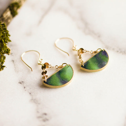 Mood Swings Earrings - Aurora Borealis