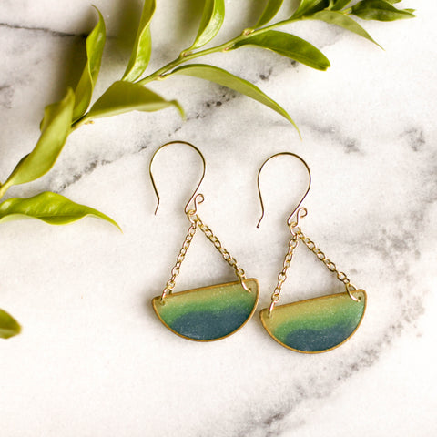 Mood Swings Earrings - Ocean