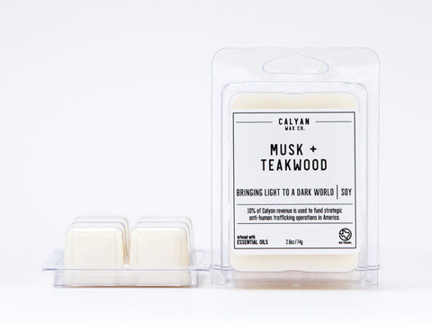 Musk + Teakwood Wax Melt