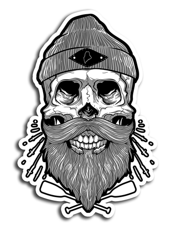 Skull // Die Cut Stickers