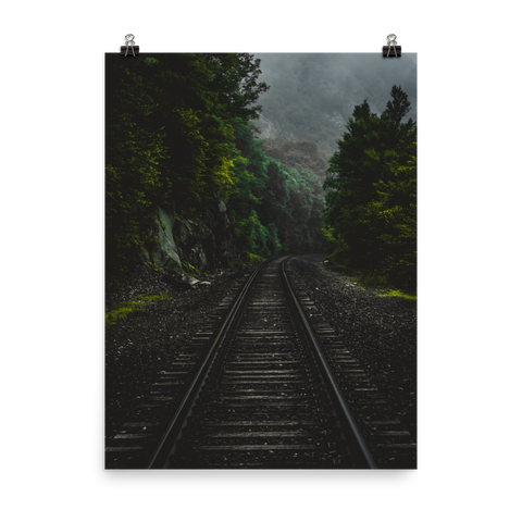 Train Tracks Poster Prints