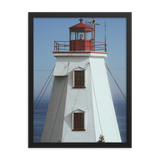 A Perfect Lighthouse Framed poster