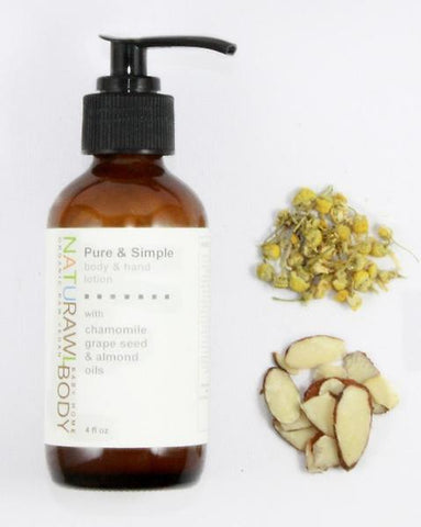 Nourishing Body + Hand Lotion / Pure & Simple
