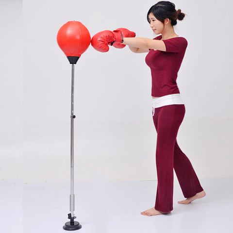Adult fitness boxing punching bag