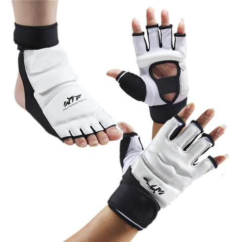 1 Set Boxing Hand And Foot Gloves