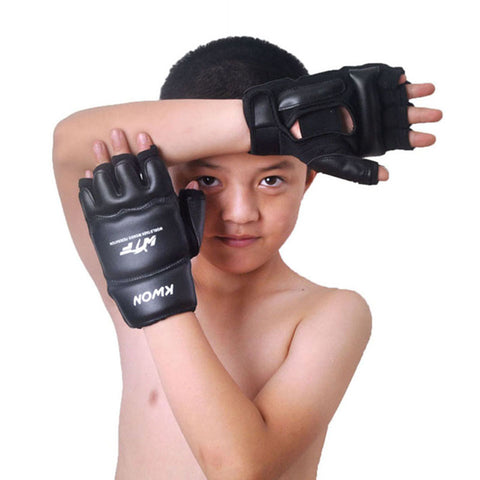 Kids half finger Boxing Gloves