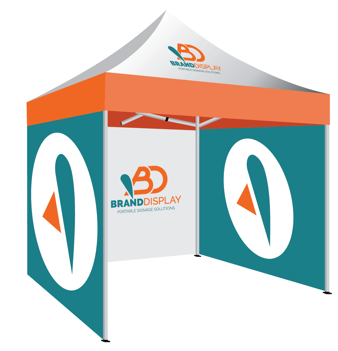 Custom Branded Pop Up Tents