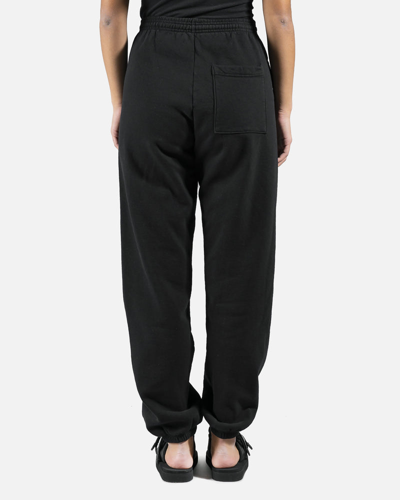Classic Logo Sweatpants in Black Back