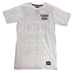 FLIGHTPATH DAIZED TEE - WHITE