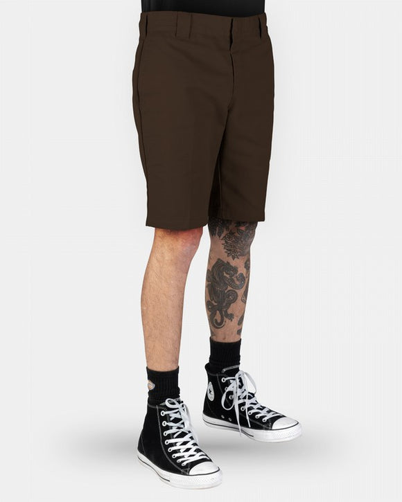 DICKIES 872 SHORTS - CHOCOLATE BROWN