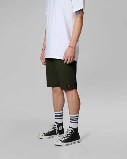 DICKIES 872 SHORTS - OLIVE GREEN